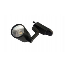 Светодиодный светильник SPOT для трека COB 12W 220V ЧЁРНЫЙ Day White